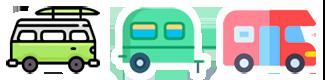 Areas de Caravaning de Madrid Logo