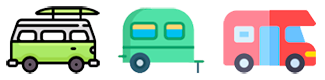 Areas de Caravaning de Madrid Logo